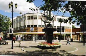 The Tamworth Co-operative department store and head office