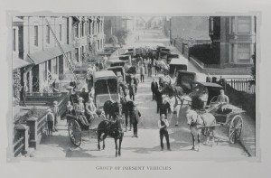Present vehicles (1907)