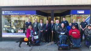 Opening of Mobility and Lifestyle at Tamworth Co-op department store