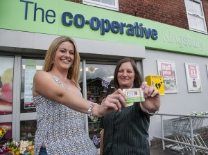 Tamworth Co-op PayPoint presentation.