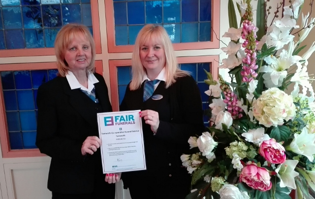 Tamworth Co-op Fair Funerals pledge