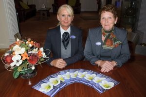 Angela Bowyer and Lorraine Walker are ready to help bereaved people with launch of Forget-me-not Support Group.