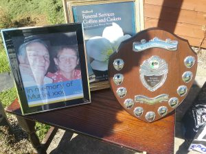 Heath Hayes bowling club competition held in memory of longtime supporter Muriel Colbourne.