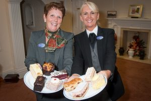 Woodville Co-op bereavement and community co-ordinator Angela Bowyer and funeral director Lorraine Walker who will be joining in World's Biggest Coffee Morning. Visitors will be able to treat themselves to cuppa and cake in support of good cause, with chance to win hampers and other prizes.