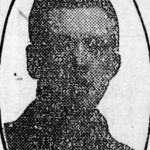 Only known photograph of Frederick Stokes, taken from an obituary in Tamworth Herald.