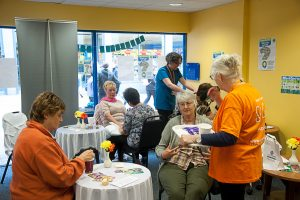 Dying Matters Awareness event proved popular throughout week.