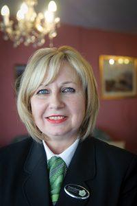 Funeral director Yvonne Harper