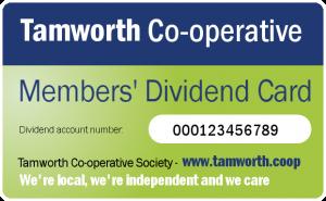 Members' dividend card