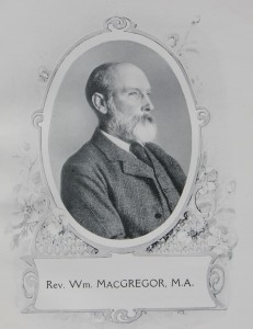 Rev William MacGregor