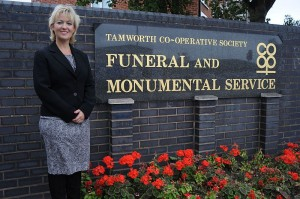 Amanda Woodward, general manager of Tamworth Co-op's funeral division, says the Tamworth Co-op is delighted to be the first funeral provider in the UK to sign up to HeavenAddress.