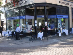 Tamworth Co-op charity coffee morning