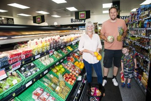 Shoppers can enjoy a great range of fresh, healthy produce.