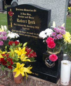Headstone for Robert York