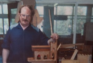 Robert York who also enjoyed woodwork.