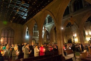 Tamworth Co-op Christmas Carol and Memorial Service is attended by hundreds of people each year.